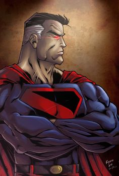Kingdom Come Superman - Colors: Anthony Figaro