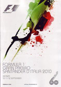 2010 Italian Grand Prix - Monza Program
