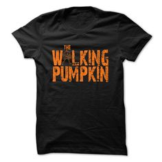 Makes an awesome gift with The WALKING PUMPKIN Halloween funny Shirt. NOT AVAILABLE IN STORES!