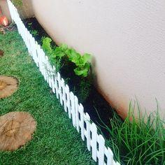 Horta orgânica das meninas  #aliceeisabella #hortaorgânica #mangericão #minirucula #oregano #couve #hortelã #alecrim #cebolinha by rafael_m_araujo http://ift.tt/1RCZaAe