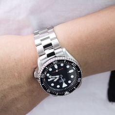 Thursday go with #MiLTAT Super Oyster bracelet Brushed/Polished on #Seikoskx007 #strapcode #MiLTAT #SKX007 #Seikodiver #Seiko #replacementband #Superoyster #seikowatch #men #menfashion