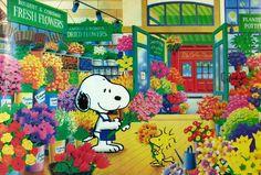 Snoopy Florist