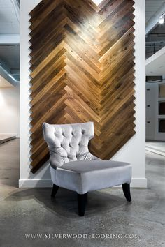 Silverwood Flooring Showroom | Junckers Black Oak (Smoked) Herringbone