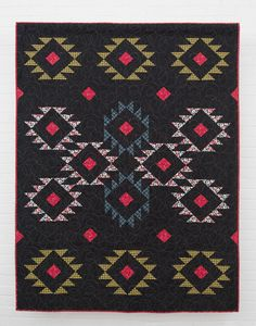 Quilt made exclusively with Small Wonder's South America collection, from our new line with Mary Fons!