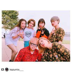 #Repost @kazumix___ @dollynoire_japan #staybrave  この前の撮影で沢山いいお写真を撮ってくれた @maho_korogi ちゃん🙌💓 可愛いお洋服 @dollynoire_japan と海に囲まれてとても楽しい現場でした(´-`)