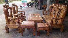 bàn ghế gỗ hương chương đào tay 12 - Đồ gỗ chuyền lộc