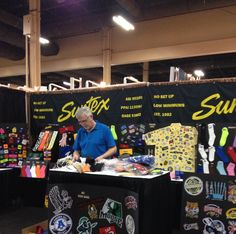 """Craig is seen here dutifully setting up for the PPAI Expo which starts today! Please be sure to stop by our booth, #4153, and say """"Hello"""" to Craig, Tom & Laura!"""