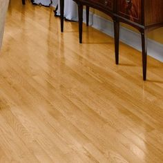 "Bruce Flooring Fulton 3-1/4"" Solid Red Oak Hardwood Flooring in Natural"