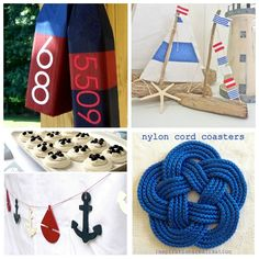 DIY Nautical Decor Ideas - Design, Dining + Diapers