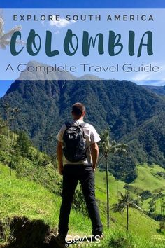 Backpacking Colombia: The Ultimate Travel Guide - Goats On The Road Visit Colombia, Colombia Travel, Brazil Travel, Peru Travel, Travel Abroad, Travel Usa, Travel Advice, Travel Guides, Travel Tips