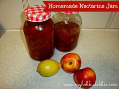 The Aspiring Home Cook: Homemade Nectarine Jam