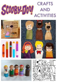 Scooby Doo crafts and activities.  Join Scooby and Mystery Inc with these fab kids crafts and activities. So get on board the Mystery Machine today!