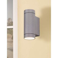 John timberland habitat modern 11 inch h outdoor wall light possini euro design matte silver up and down wall light mozeypictures