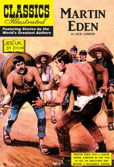 Cover for Classics Illustrated (JES) (Classic Comic Store, 2008 series) #31 - Martin Eden