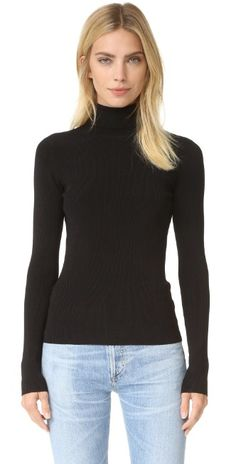Elizabeth and James Renner Cutout Turtleneck Sweater | SHOPBOP