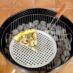 Want to try Pizza this way   Pizza Grill Topper | World Market