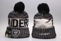 7da856fc4a0 NFL Oakland Raiders Beanie hot hat11