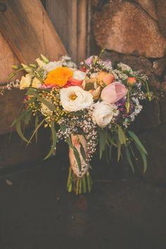 wedding bouquet http://www.weddingchicks.com/2013/09/11/vintage-diy-wedding-3/
