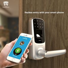 Ultroloq UL3 Bluetooth door lock, keyless entry with your smart phone