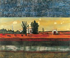 Peter Doig Grasshopper 1990 Oil on Canvas 200 x 250cm