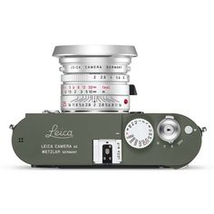 Leica M-P 240 Set Safari olive edition camera, it's a limited production set with Leica Summicron-M lens. Leica M-P Set 'Safari' camera set comprises of… Leica M, Leica Camera, Camera Gear, Camera Bags, Old Cameras, Vintage Cameras, Classic Camera, Rangefinder Camera, Photography Camera