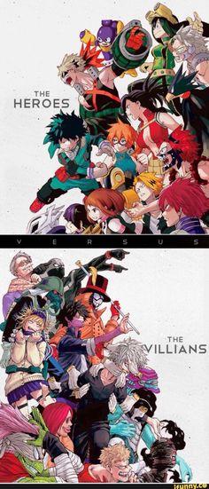 Heroes vs. Villians