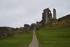 Corfe Castle  DSC_0480 by Gem Fat Frocks, via Flickr