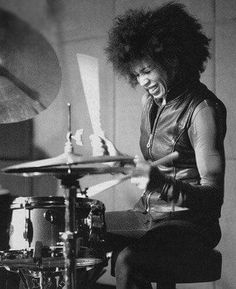 Cindy Blackman-Santana is one of the premier drummer-percussionists in the business.