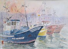 4 Barcos en el puerto de Mogán