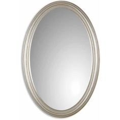 Shop Uttermost Franklin Oval Silver Wall Mirror - 21x31x1.25 - Overstock - 9729367