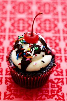 Cupcakes de Sundae - Recetízate