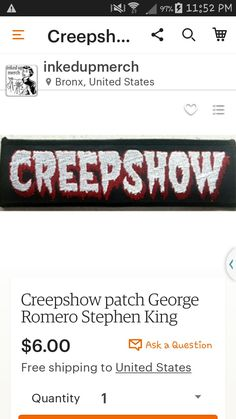George Romero, Battle Jacket, Horror Movies, Patches, Jackets, Horror Films, Down Jackets, Scary Movies, Jacket