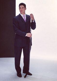 Sidney Crosby suits up for #HockeyFightsCancer via Instagram @NHL