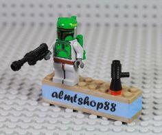 LEGO-Star-Wars-Boba-Fett-Bounty-Hunter-Minifigure-Blaster-6209-6210-8097-Jango