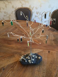 TaeKwon-Do charm tree complete with charms from White belt through to 6th Degree Black Belt