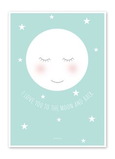 nursery wall art Baby Nursery Art, Nursery Prints, Baby Zimmer, Frame It, Baby Room Decor, Kidsroom, Baby Design, Stars And Moon, Kids And Parenting