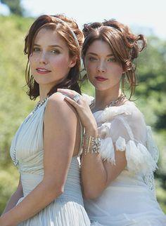 Sophia Bush & Natalie Dormer  o my...so much beauty...