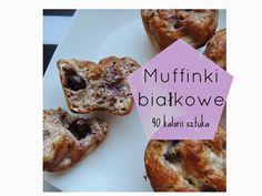 Fitblog. Odchudzanie, przepisy, motywacja.: Niskokaloryczne Muffiny białkowe - 40kcal sztuka
