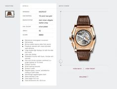 Nice layout for product page with detail around image. http://www.iwc.com/en-uk/