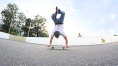 HANDSTAND KICKFLIP! RODNEY MULLEN CHALLENGE #4: Handstand Kickflips are insane.… #Skateswitzerland #Challenge #HANDSTAND #KICKFLIP #MULLEN
