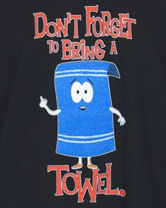 There's a frood who really knows where his towel is. Happy Towel Day!
