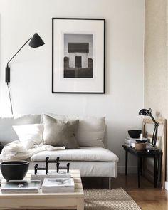 my scandinavian home: Annika Sahléns Cosy, Calm and Creative Swedish Home Living Room Interior, Home Interior, Living Room Decor, Interior Paint, Living Pequeños, Home And Living, Nordic Living, Room Inspiration, Interior Inspiration