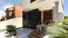 Conheça uma casa moderna que aproveitou completamente seu te…