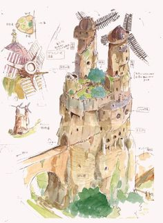"From ""In the vally of wind Nausicaa"" Hayao Miyazaki"