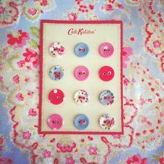 Gorgeous Cath Kidston buttons