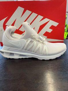 4f83ceda9 Nike Shox Gravity Mens Mesh Running Shoe White/White AR1999-100 NEW Size 10
