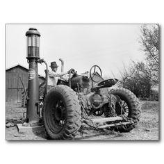 Vintage Farm Gas Pump