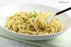 Espaguete com limão « chezbianca