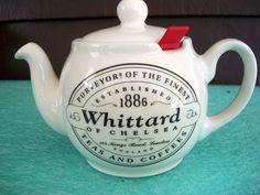 English Tea Pot    Whittard. $12.00, via Etsy.