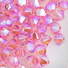Swarovski Crystal ab Bicones 8mm 5328    unlimited stock     4pcs